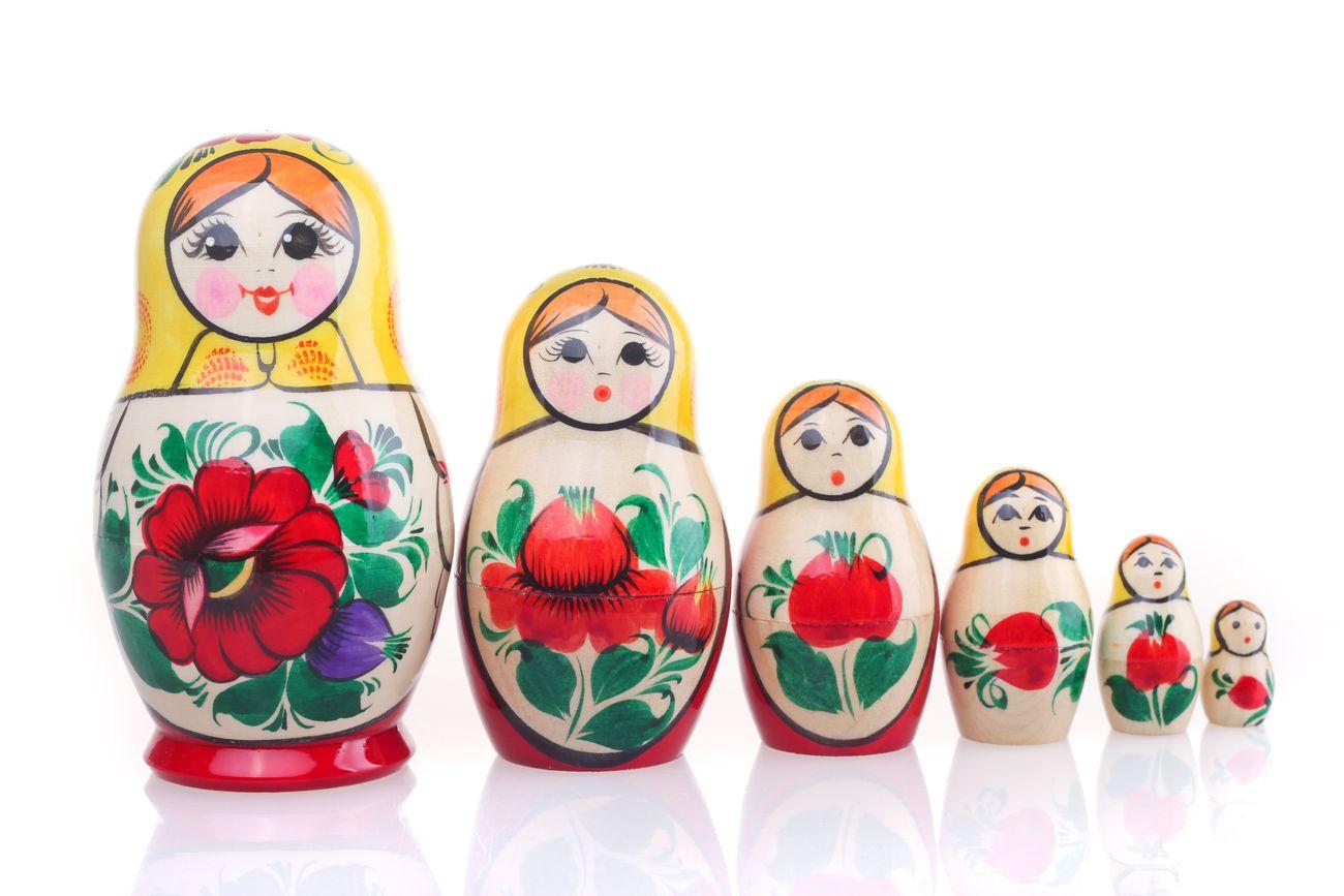 Русские матрешки: такие одинаковые и такие разные