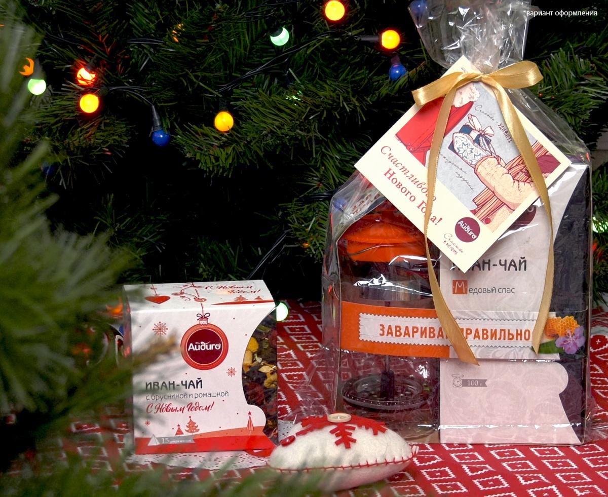 Иван-чай – вкусный и полезный подарок на Новый год