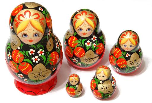 Чем отличается китайская матрешка от русской?