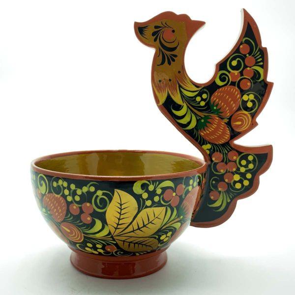 Чашка с птичкой 180*130