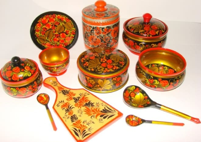 Хохломская посуда: можно ли пользоваться в быту?