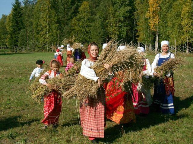 Осенние традиции
